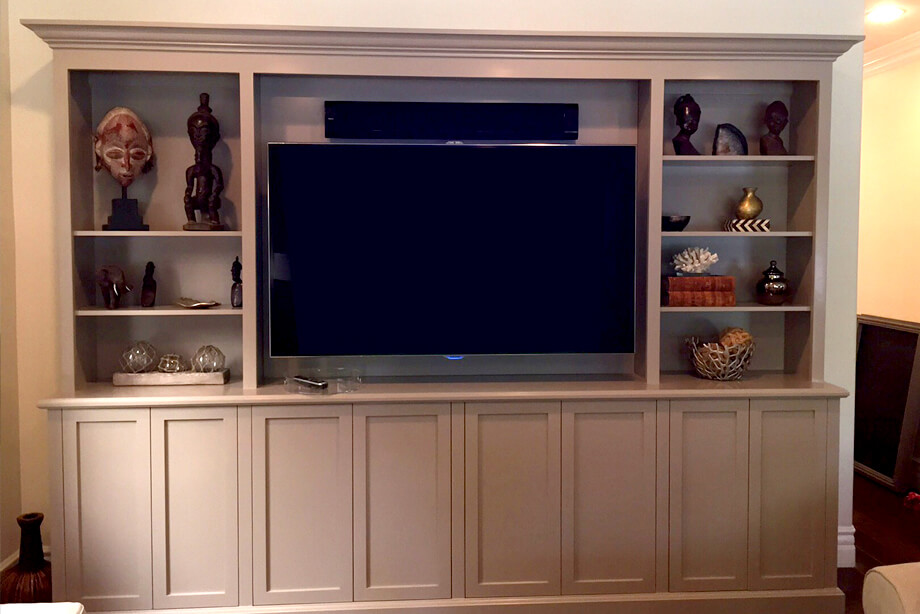 California Custom Media Cabinets