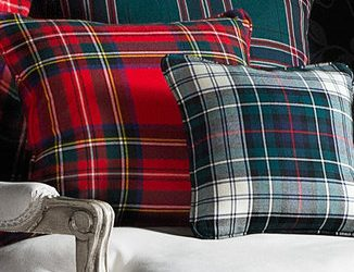 Tartan in Home Goods