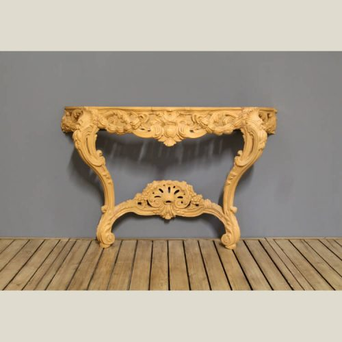 French Regency Carved Console