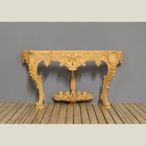 Louis 14th French Regency Carved Console