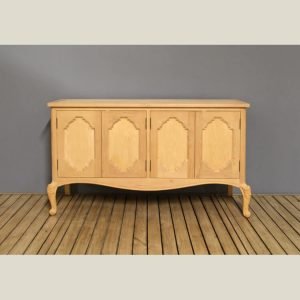 Traditional French Provincial Media Cabinet