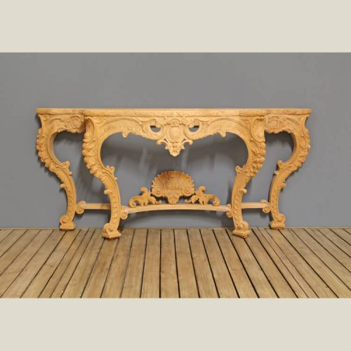 French Regency Traditional Carved Console