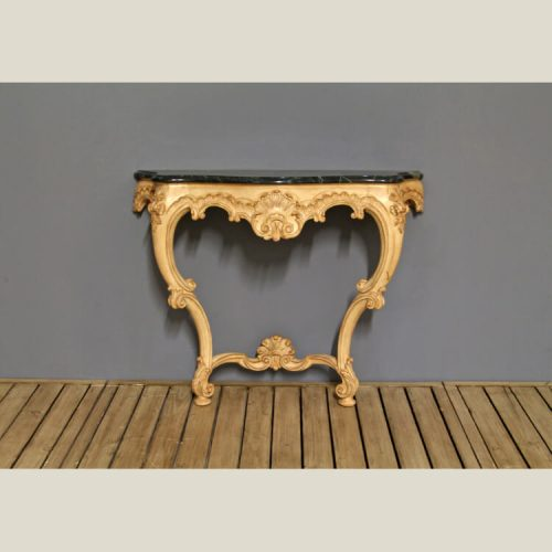 French Provincial Carved Console