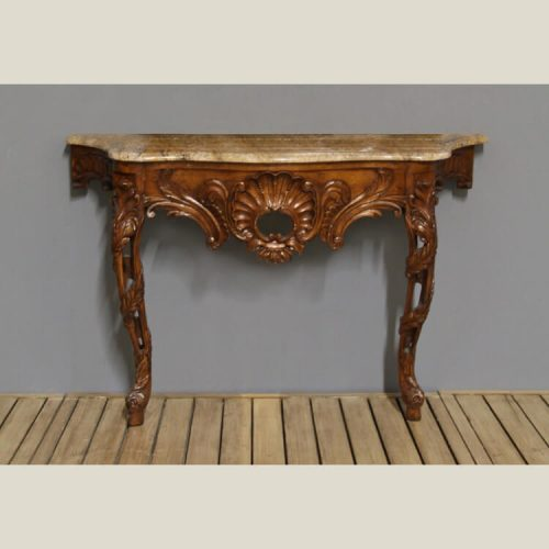 Italian French Provincial Carved Console