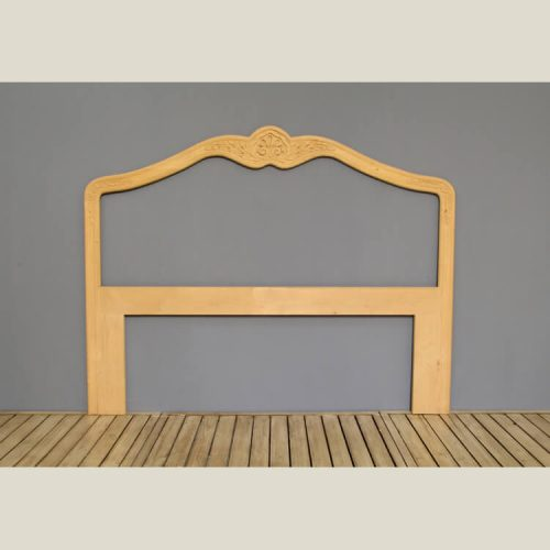 Traditional Hand Carved Headboard