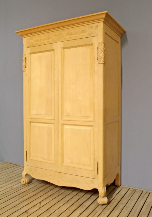 Rolled Feet Armoire