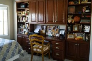 Original Cabinetry in the room