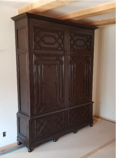 Murphy Bed made to look like an Armoire